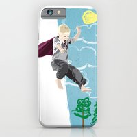 iPhone & iPod Case featuring The man who has no imagination has no wings. by Greg Koenig