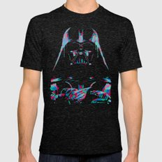 Neon Vader Mens Fitted Tee Tri-Black SMALL