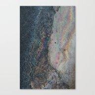 Canvas Print featuring Sidewalk Rainbow by Sarah Brust