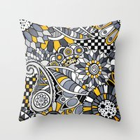 Zander Throw Pillow