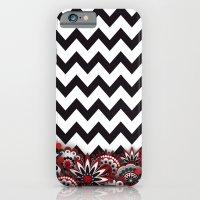 Floral Chevron. iPhone 6 Slim Case