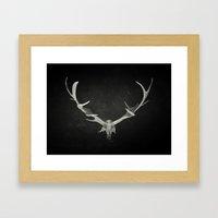 Dead King Framed Art Print