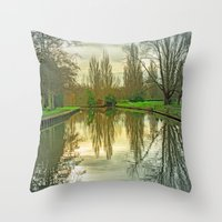 SY-MY-TREES Throw Pillow