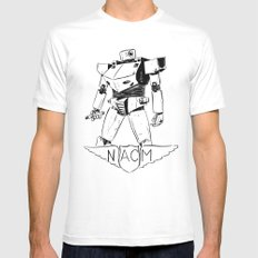National Advisory Committee for Mecha-Electronics Mens Fitted Tee White SMALL