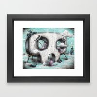 Channel Zero Framed Art Print