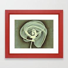 A Smooth Awakening Framed Art Print