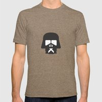 Darth Fighters / Darth Vader Mens Fitted Tee Tri-Coffee SMALL