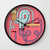 Go Skateboarding Wall Clock