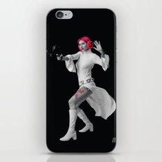 Princess Leia Strikes Back iPhone & iPod Skin