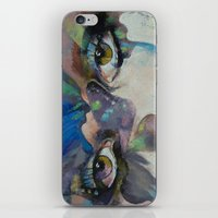 Gothic Butterflies iPhone & iPod Skin