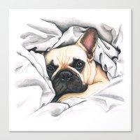 French Bulldog - F.I.P. … Canvas Print