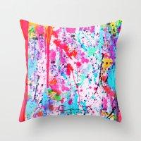 Art Wonder Throw Pillow
