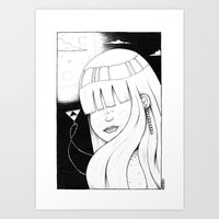 Legend Of Awesome Art Print