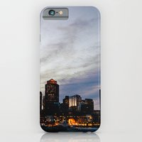 iPhone & iPod Case featuring Christmas in Boston by Delphine Comte