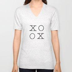 XOXO Unisex V-Neck