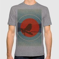 Bird Call Mens Fitted Tee Athletic Grey SMALL