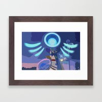 A Little Divine Interven… Framed Art Print