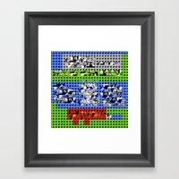 > NES V1 Framed Art Print