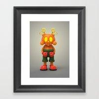 Halloween Kranyus Framed Art Print