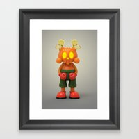 Halloween Kranyus Framed Art Print