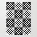 Geometric Tribal Canvas Print