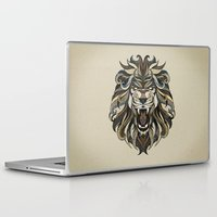 lion Laptop & iPad Skins featuring Lion by Andreas Preis