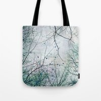twigs tapestry Tote Bag