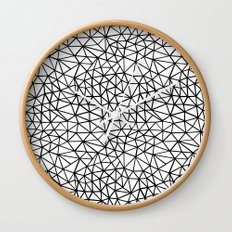 Shattered R Wall Clock