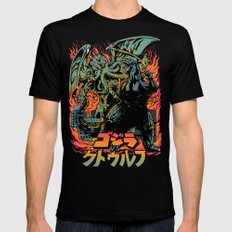Clash of Gods: Remake Mens Fitted Tee Black SMALL