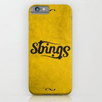 iPhone & iPod Case featuring Strings by Alejandro Ayala