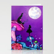 Alice In Wonderland And … Stationery Cards