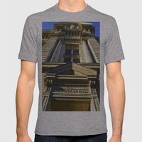 Academie De Paris Mens Fitted Tee Athletic Grey SMALL