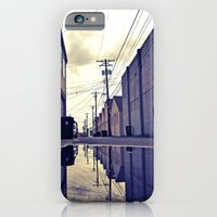 iPhone & iPod Case featuring Alley waterfront by Vorona Photography
