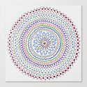 Mandala Smile B Canvas Print