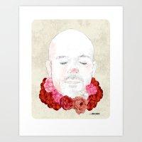 Flowered Art Print