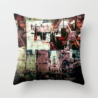 Concrete Jungle 2 Throw Pillow