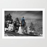 Travel With Me, Trough P… Art Print