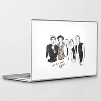 one direction Laptop & iPad Skins featuring One Direction by Stephanie Recking