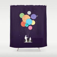 Papa Shower Curtain