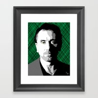 Tim Roth Framed Art Print