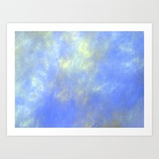 up up in the sky Art Print