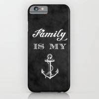 Family is my anchor. iPhone 6 Slim Case