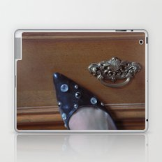 Rhinestoned Right Shoe Laptop & iPad Skin