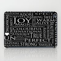 You Are All Of This And More!. iPad Case