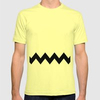 Good Grief Mens Fitted Tee Lemon SMALL