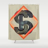 S6:  Society6 Universe Shower Curtain