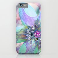 iPhone & iPod Case featuring Fractal in Flower by Klara Acel