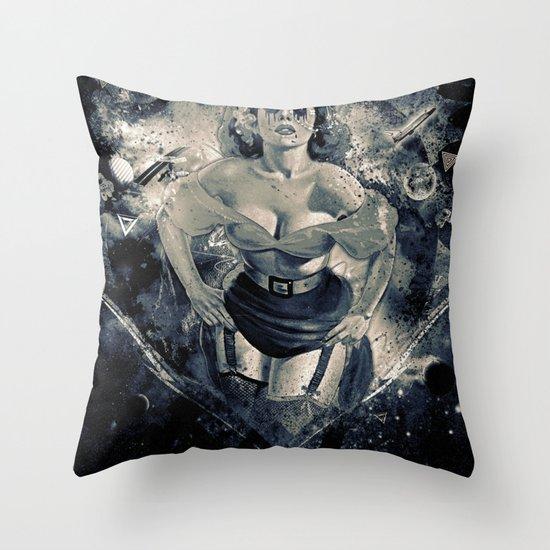 Space Breaker Throw Pillow