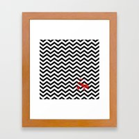 Black Lodge Dreams (Bloo… Framed Art Print