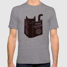 Mind Control (buy this) Mens Fitted Tee Tri-Grey SMALL